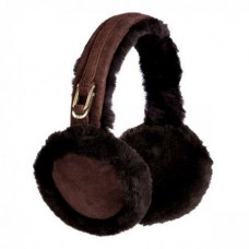 Наушники UGG DOUBLE U LOGO EARMUFFS CHOCOLATE