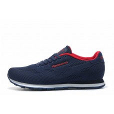 Кроссовки Reebok Classic CL Engineered Mesh Navy Red (О517)