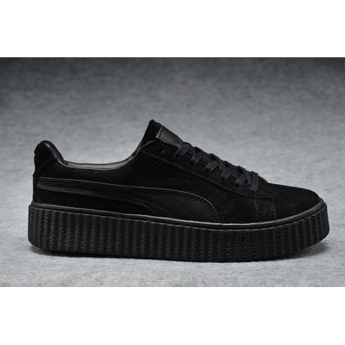 Кроссовки Puma Rihanna Creeper Black (ОМЕ367)