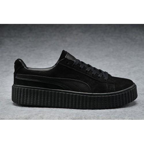 Кроссовки Puma Rihanna Creeper Black (ОМЕ367)
