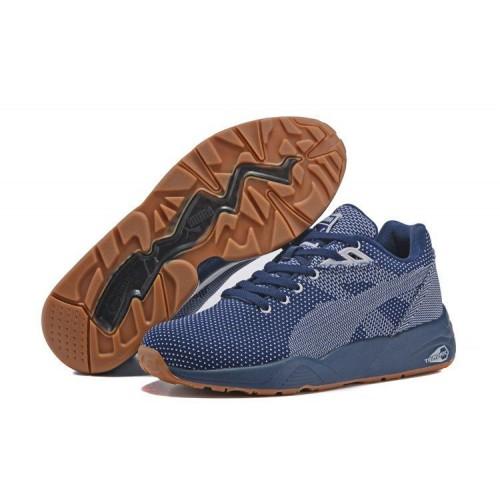Кроссовки Puma Trinomic R698 Knit Mesh v2 Peacoat (O417)