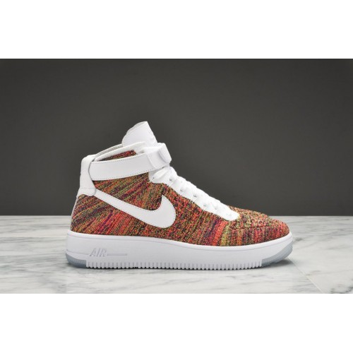 Кроссовки Nike Air Force Ultra Flyknit multi (О383)