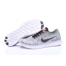 Кроссовки Nike Free Run Flyknit Light Grey (О125)