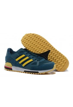 Кроссовки Adidas Оriginals ZX750 green/yellow (О241)