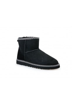 UGG Classic Mini Liberty Black (E153)