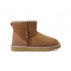UGG Classic Mini Liberty Chestnut
