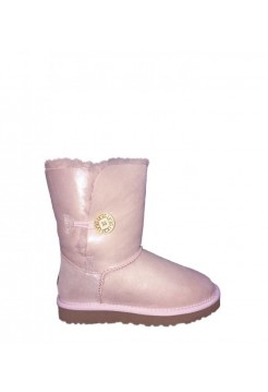 UGG Bailey Button Metallic Pink (ЕО597)