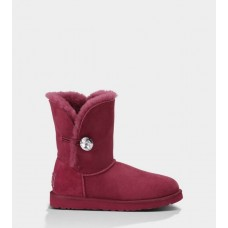 UGG Bailey Button Bling Bordo