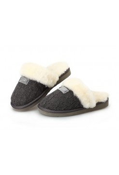 Тапочки Ugg Cozy Knit Cable Grey