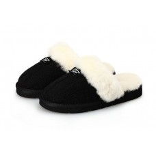 Тапочки Ugg Cozy Knit Cable Black