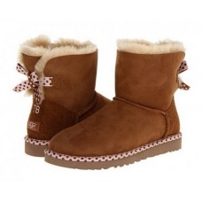 UGG Mini Bailey Bow 78 Chestnut