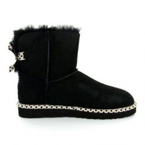 UGG Mini Bailey Bow 78 Black (S144)