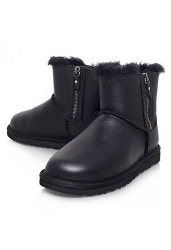 UGG Classic Mini zipper Black (S248)