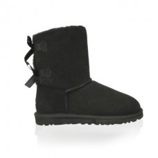 UGG Baby Bailey Bow Black (М634)