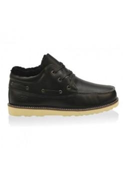 UGG Ботинки кожа Черные (M446)