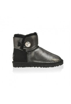 UGG Bailey Button Mini Bling Сталь (М214)