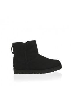 UGG Cory Ботинки Танкетка Черные (М237)