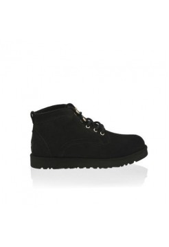 UGG Ботинки Шнуровка Черные (SМ236)