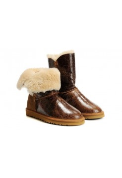 UGG Bailey Button Krinkle Chestnut (ЕО623)