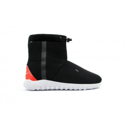 Сапоги Nike Tech Fleece Boots Black (W421)