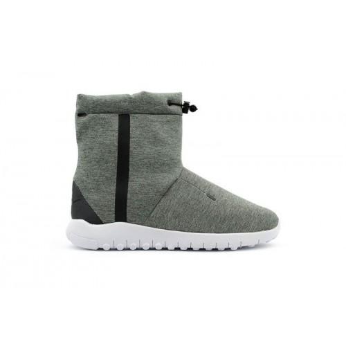 Сапоги Nike Tech Fleece Boots Grey (W422)