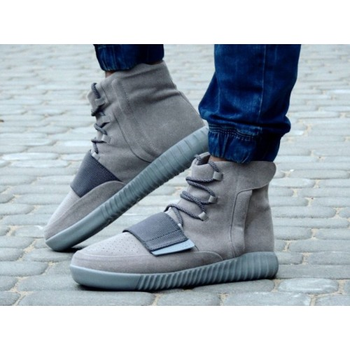 Кроссовки Adidas Yeezy Boost 750 Grey (W215)