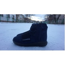 Кроссовки Adidas Yeezy Boost 750 Navy Blue (W216)