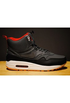 Кроссовки Nike Air Max 87 High Черные (W611)