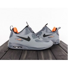 Кроссовки Nike Air Max Sneakerboot Grey (W614)