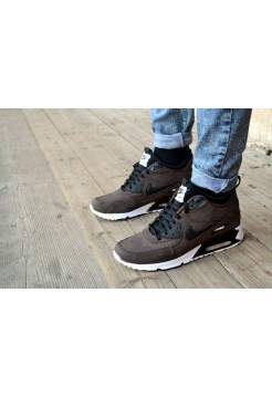 Кроссовки Nike Air Max 90 Brown-White-Black (W212)