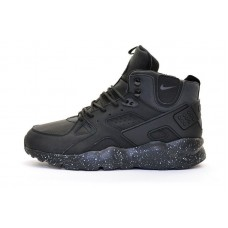 Кроссовки Nike Air Huarache Winter Black (W116)