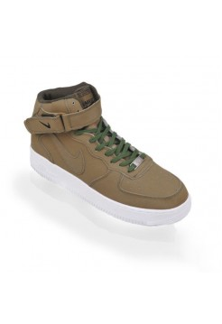 Кроссовки Nike Air Force High Хаки (М417)