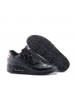 Кроссовки Air Max 90 VT American Independence Day Black (М967)