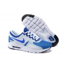 Кроссовки Nike Air Max Zero Бело-голубые (М121)