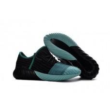 Кроссовки Adidas Yeezy Boost 550 Черно/синие (О415)
