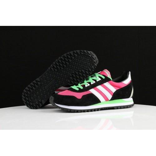 Кроссовки Adidas ZX400 Hyper Pink Black White (О451)