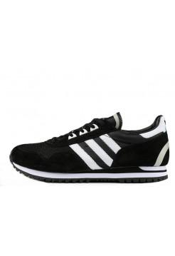 Кроссовки Adidas ZX400 Black White (О456)