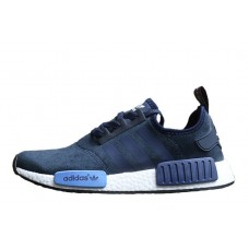 Кроссовки Adidas NMD Runner Suede Blue (O416)