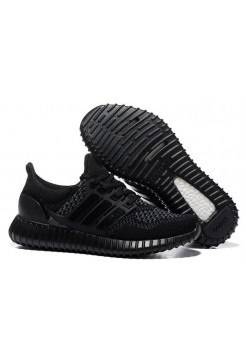 Кроссовки Adidas Yeezy Ultra Boost Black (Р327)
