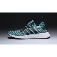 Кроссовки Adidas NMD V4 light blue/black (АW425)