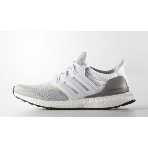 Кроссовки Adidas Ultra Boost Grey/Off White (ЕW522)