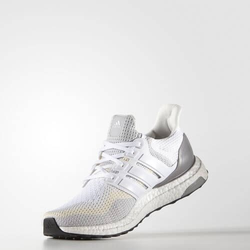 Кроссовки Adidas Ultra Boost Grey/Off White (ЕW522)