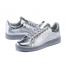 Кроссовки Adidas Raf Simons Stan Smith Metallic Silver (ЕW214)