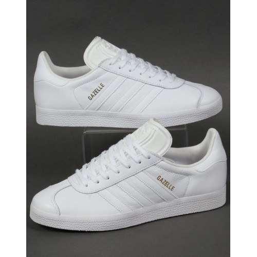 Кроссовки Adidas Gazelle Leather Trainers White (Е-325)