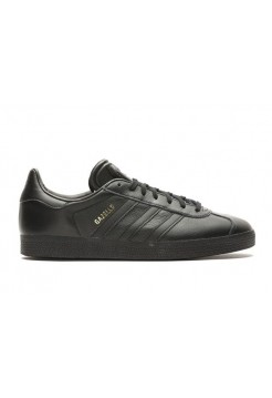Кроссовки Adidas Gazelle Leather Black (Е326)