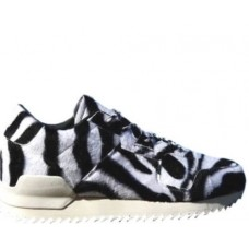 Кроссовки Adidas ZX 700 Originals Remastered Zebra White Black (Е312)
