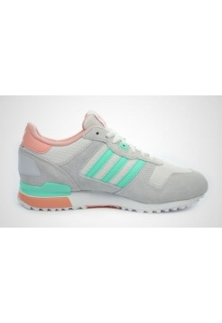 Кроссовки Adidas ZX 700 Grey/Turquoise (Е315)