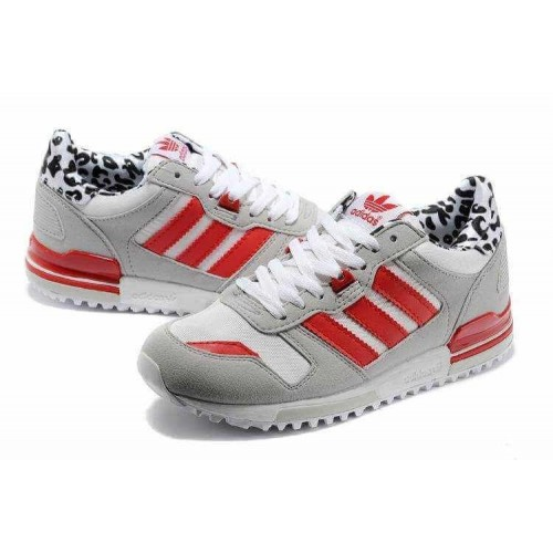 Кроссовки Adidas ZX 700 Grey/Red/White (Е260)