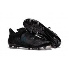 Футбольные бутсы Adidas X 16+ Pure Chaos FG Black/Blue (Е324)