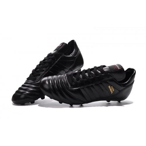 Футбольные бутсы Adidas Copa Mundial FG Black (Е326)